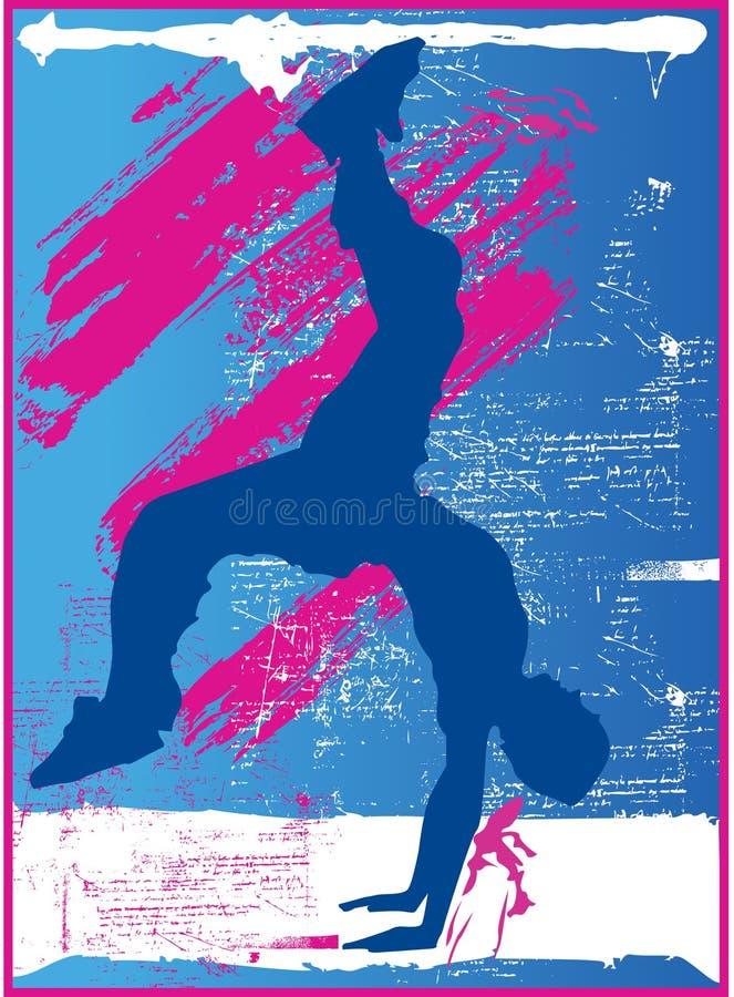 breakdance ilustracja wektor