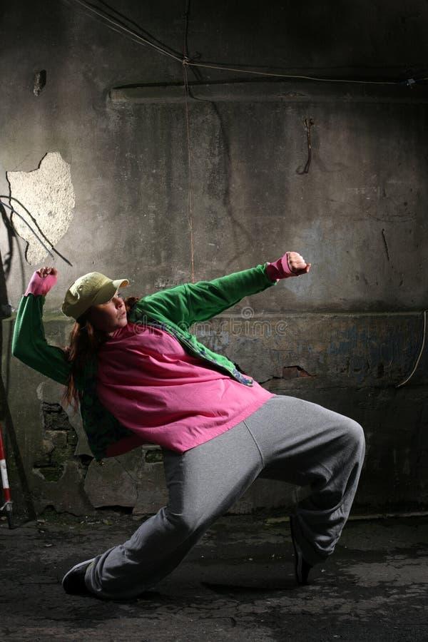 Breakdance royalty free stock image