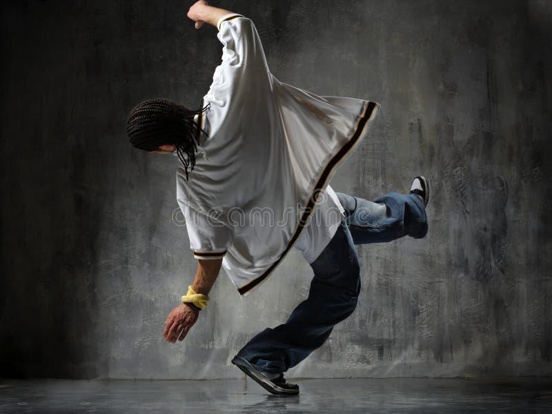 breakdancer落 免版税库存图片