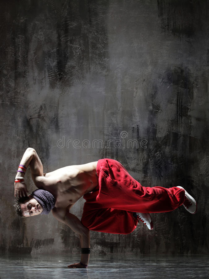 The breakdancer stock images