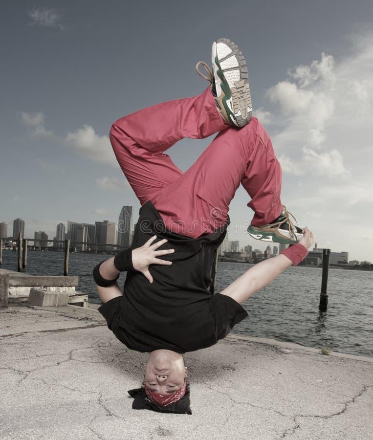 Breakdancer lizenzfreie stockfotos