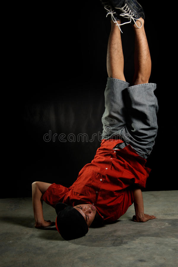 Breakdancer stock foto
