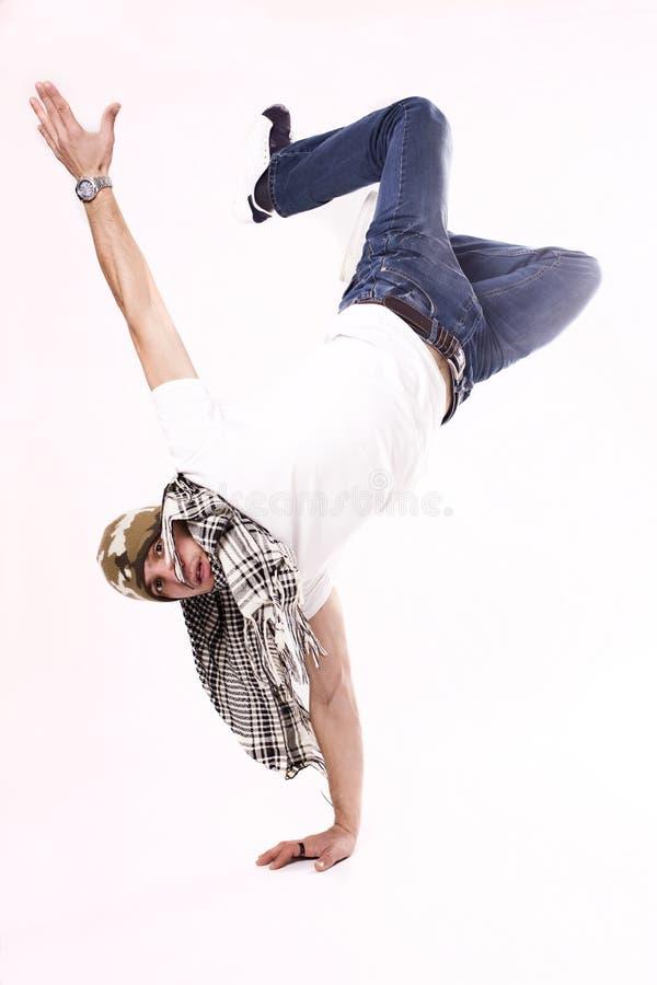 Breakdancer royalty-vrije stock afbeeldingen