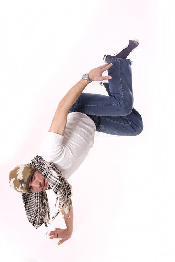 Breakdancer royalty-vrije stock fotografie