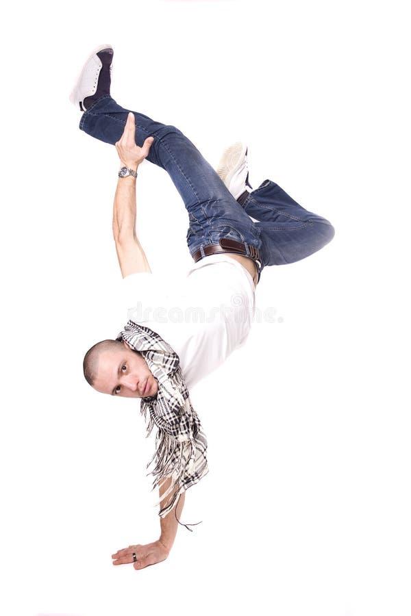 Breakdancer stock fotografie