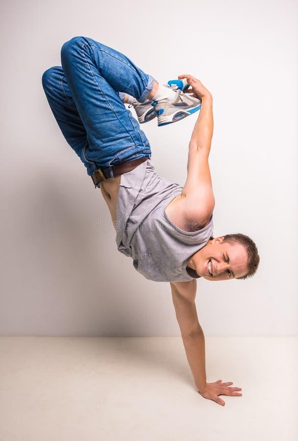 Breakdancer 免版税库存图片