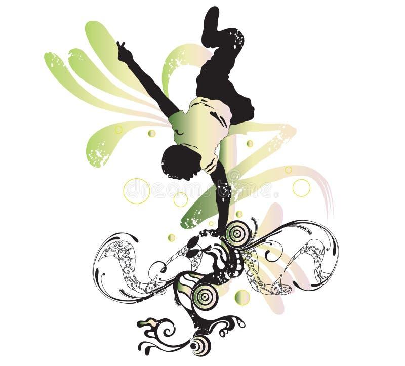 breakdancer ilustracji
