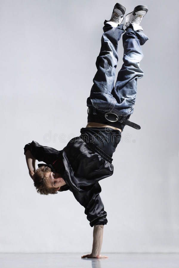 Breakdancer fotos de stock royalty free