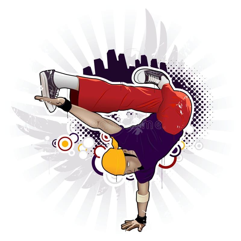 breakdancer stock illustrationer