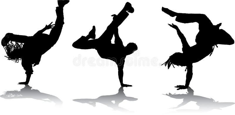 breakdancers ilustracji