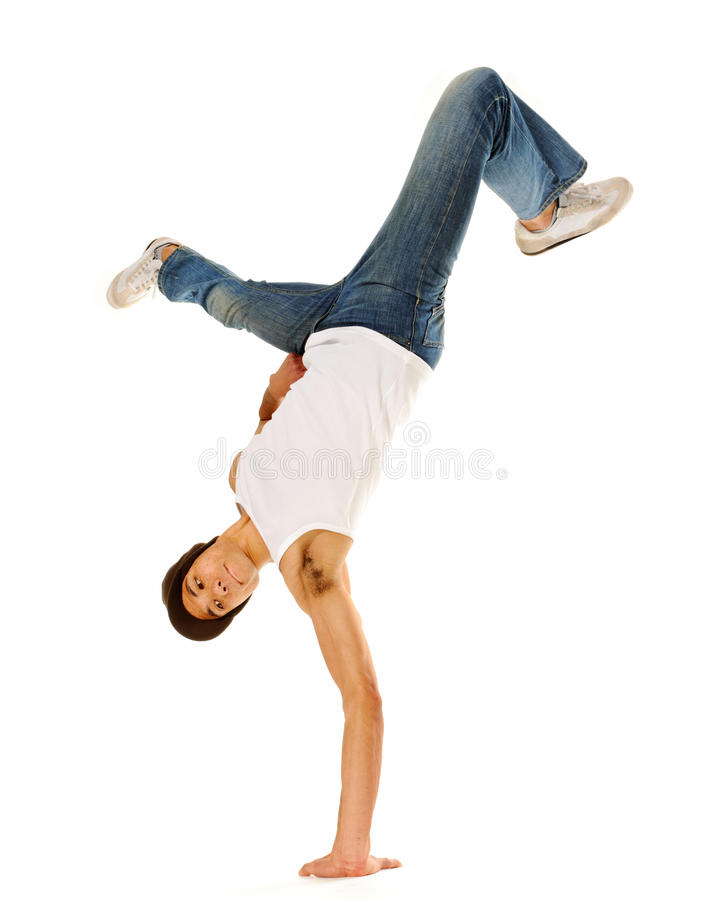 Breakdancing Isolated Stock Photos