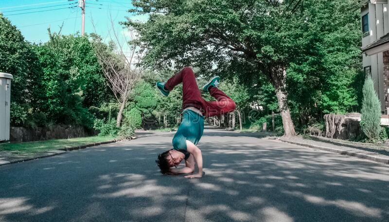 Breakdancing On Streets Free Public Domain Cc0 Image