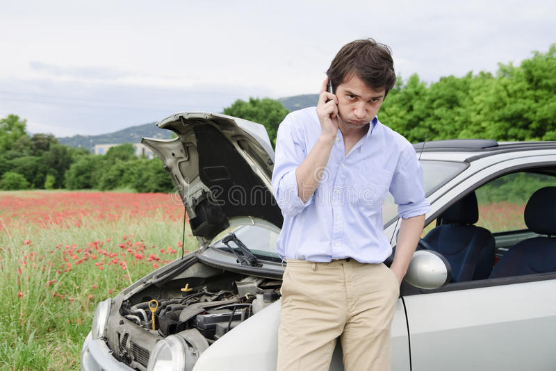 Breakdown service royalty free stock photography