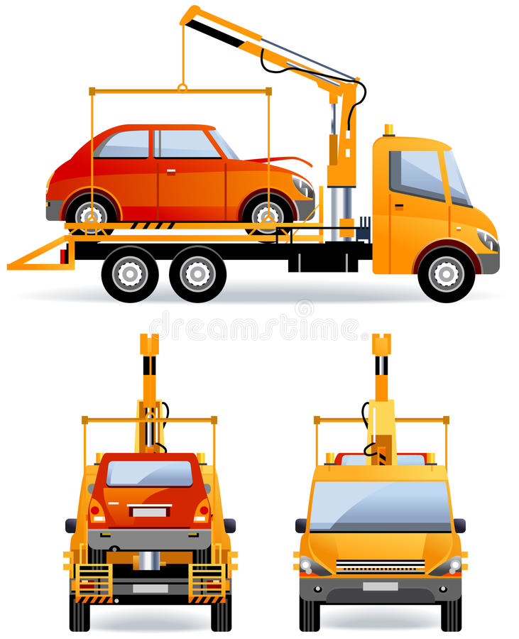 Download Breakdown Truck stock vector. Illustration of image, fast - 25462987