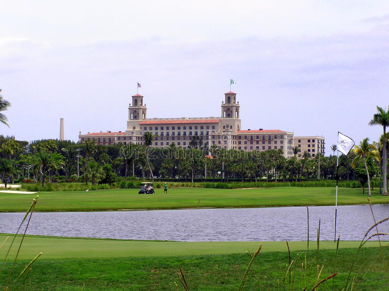 The Breakers Hotel and Resort, Palm Beach, Florida royalty free stock photo