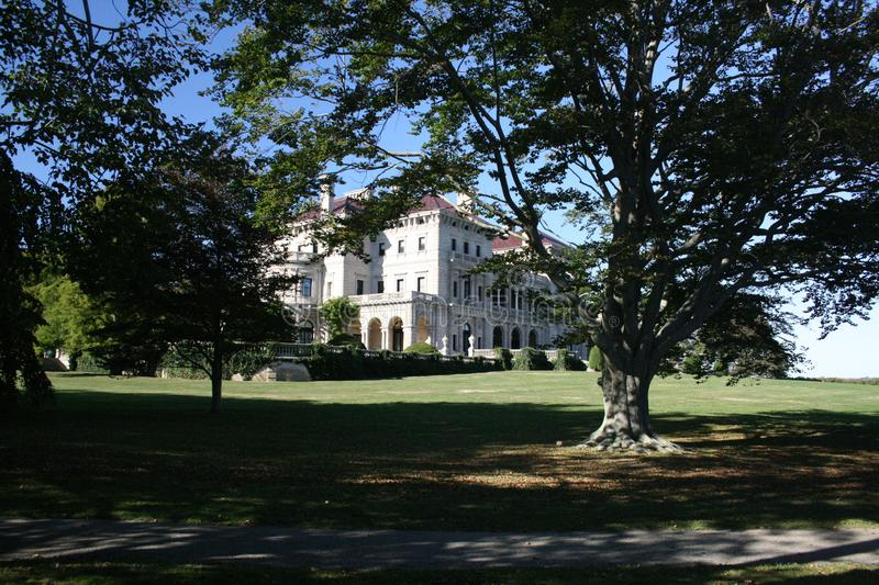 The Breakers mansion Newport Rhode Island royalty free stock photos