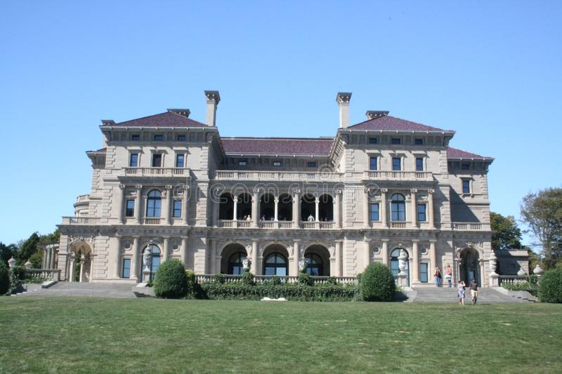 The Breakers mansion Newport Rhode Island stock photography
