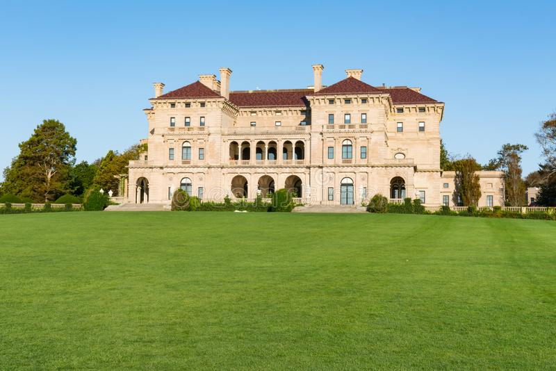 The Breakers in Newport, Rhode Island royalty free stock photos
