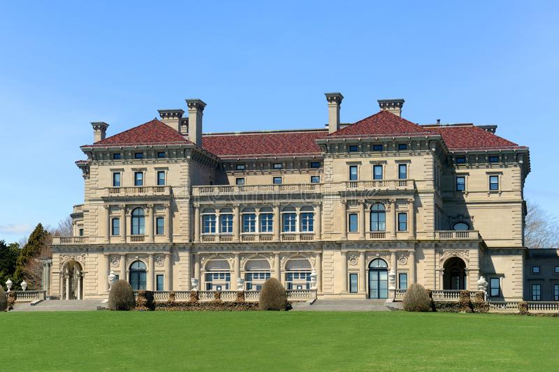 The Breakers, Newport, Rhode Island, USA royalty free stock images