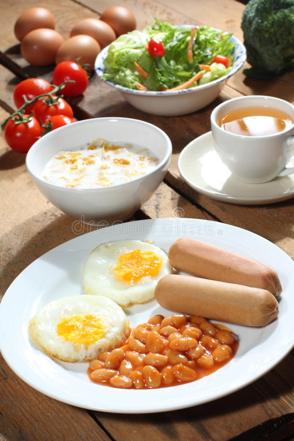 Download Breakfast stock image. Image of tomatoes, healthy, wood - 12772265