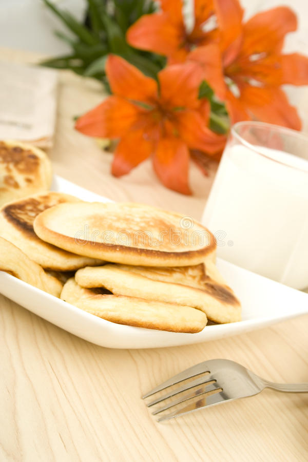 Download Breakfast stock image. Image of hotcakes, cooked, drink - 14828213