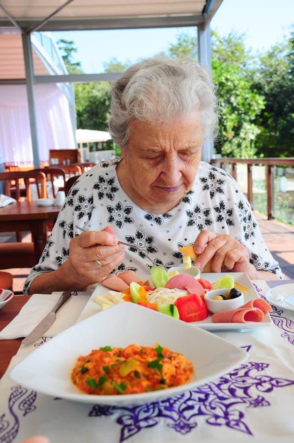 Download Breakfast stock photo. Image of head, elderly, adult - 19353140
