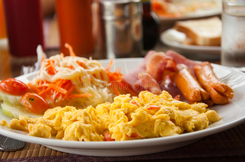 Download Breakfast stock photo. Image of dine, greasy, healthy - 21244838