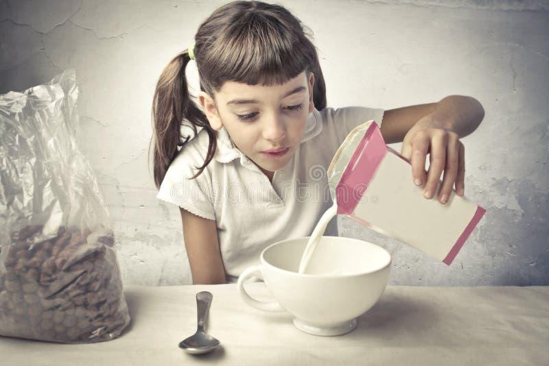 Download Breakfast stock photo. Image of drink, spoon, cereals - 21872112