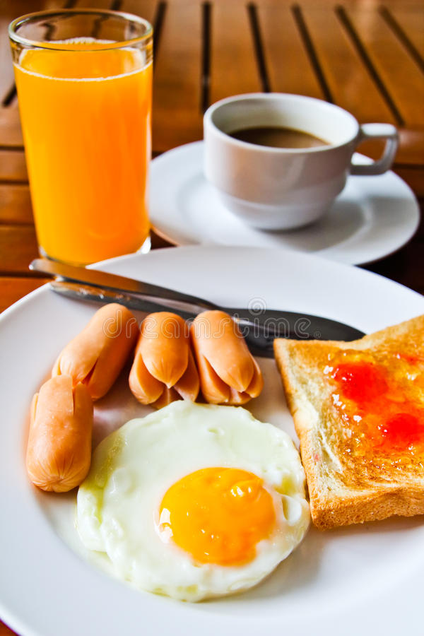 Download Breakfast stock photo. Image of appetizing, fried, food - 26550774