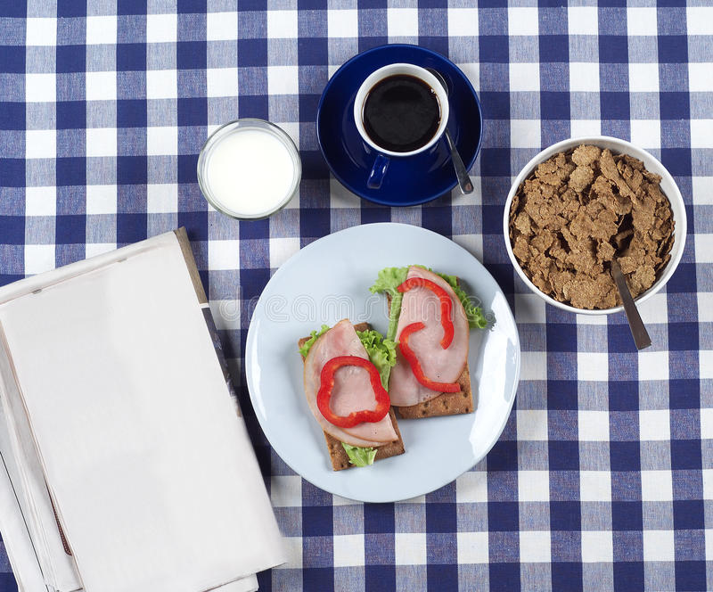Download Breakfast stock photo. Image of eating, pepper, meal - 26766692