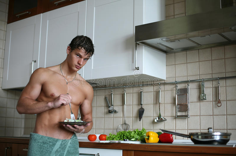 Download Breakfast stock image. Image of health, inside, handsome - 26879635