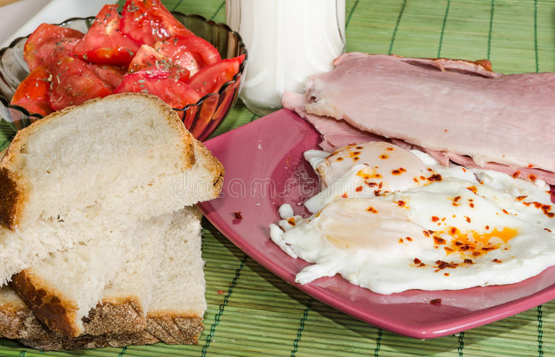Download Breakfast stock image. Image of tomatoes, breakfast, bacon - 27002853