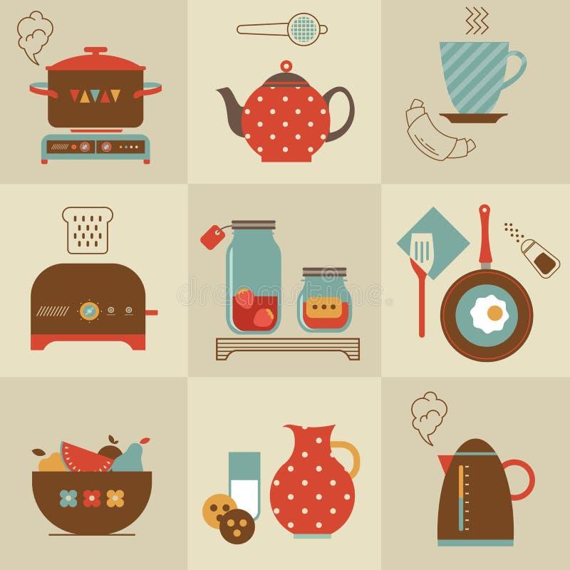 Download Breakfast stock vector. Illustration of coffee, bakery - 28097700