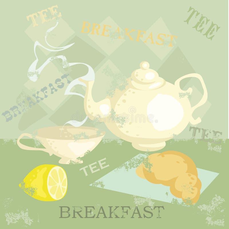 Download Breakfast stock vector. Illustration of grunge, breakfast - 8297789