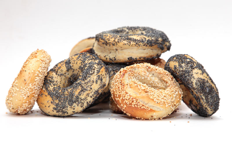Download Breakfast Bagels stock photo. Image of yeasted, fresh - 17580124