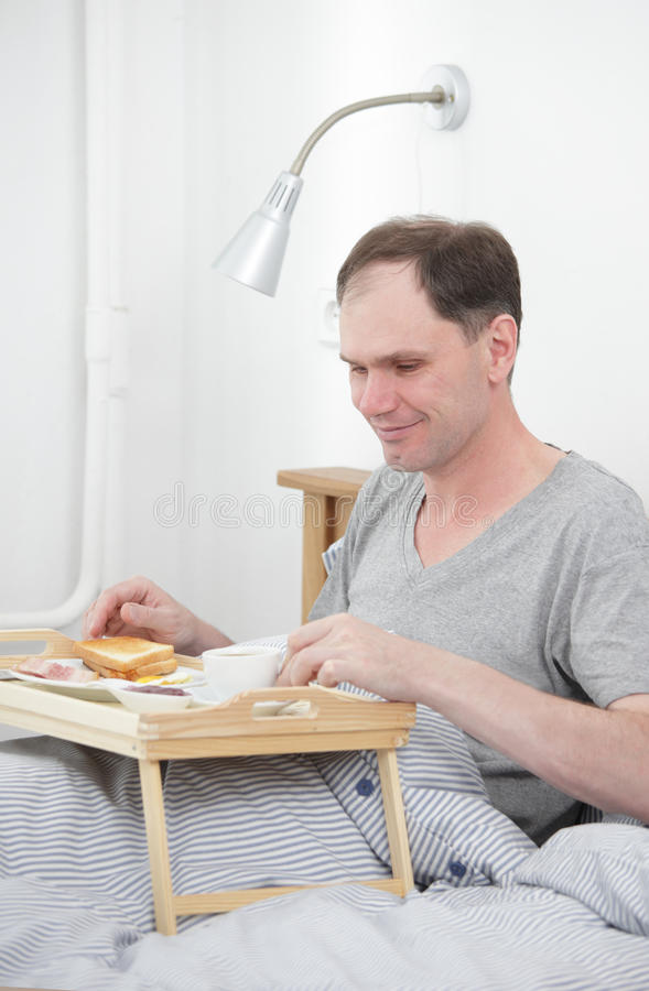 Breakfast on the bed