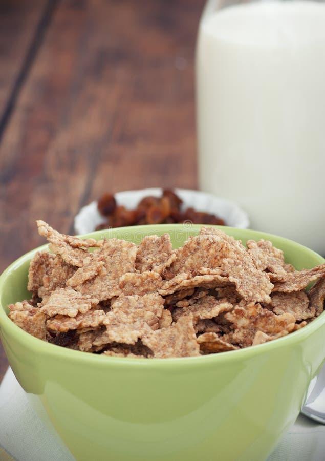 Breakfast stock image. Image of metal, grapes, milk, grain ...