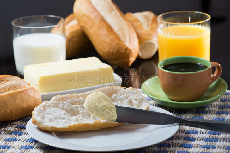 Download Breakfast stock image. Image of snack, glass, coffee - 30348185