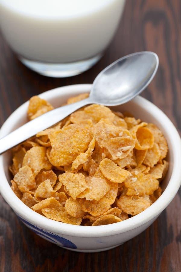 Breakfast cereal with fresh milk