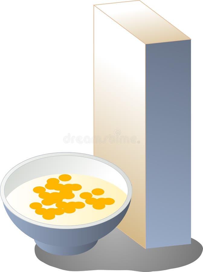 Download Breakfast Cereal Illustration Stock Vector - Illustration of cereal, vector: 5268829