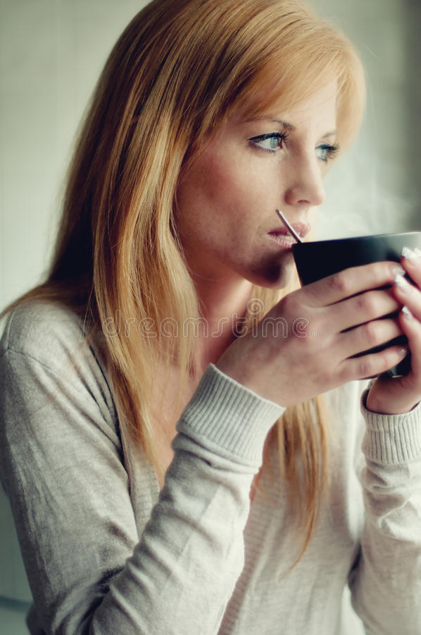 Download Breakfast coffee stock photo. Image of glamour, fresh - 18864858