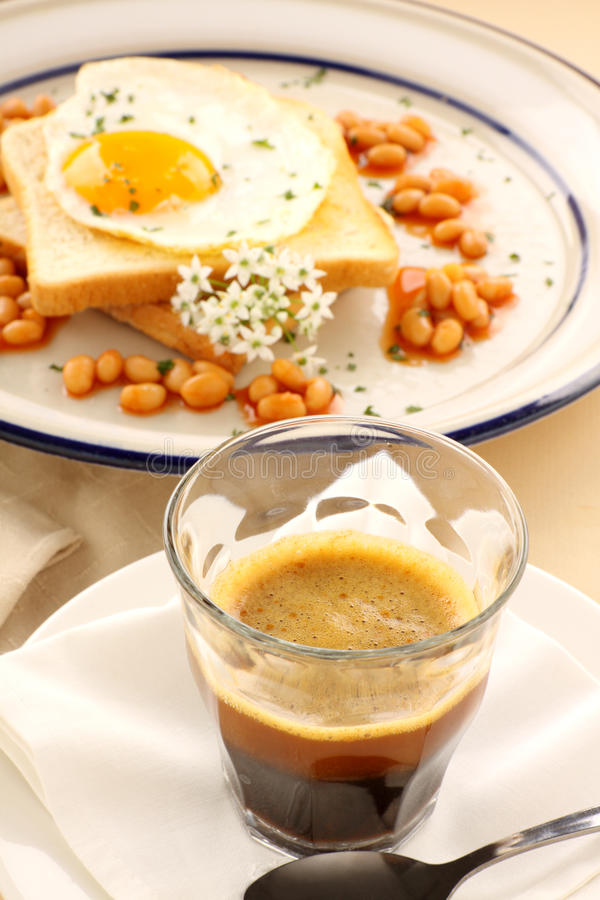 Breakfast And Coffee Stock Image
