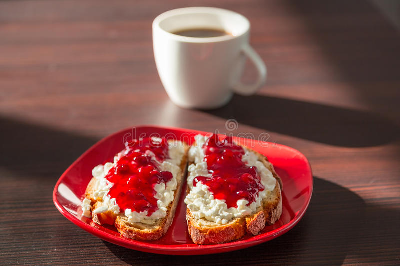 Download Breakfast with coffee stock image. Image of cranberry - 38725733
