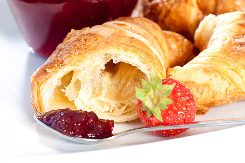 Download Breakfast With Croissant Stock Photo - Image: 19740620