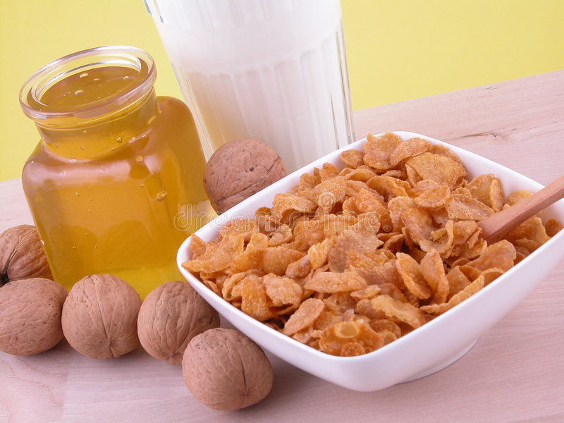 Download Breakfast - on diet stock image. Image of food, morning - 455499