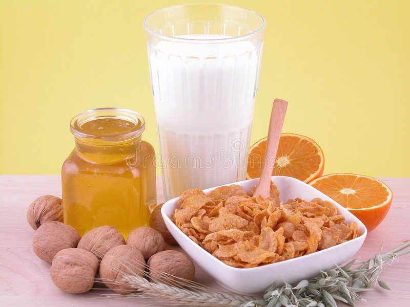 Download Breakfast - on diet stock image. Image of health, healthy - 455585