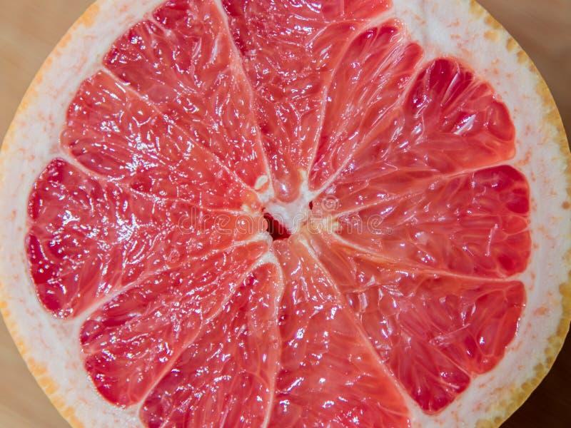 Breakfast Grapefruit Serving stock image