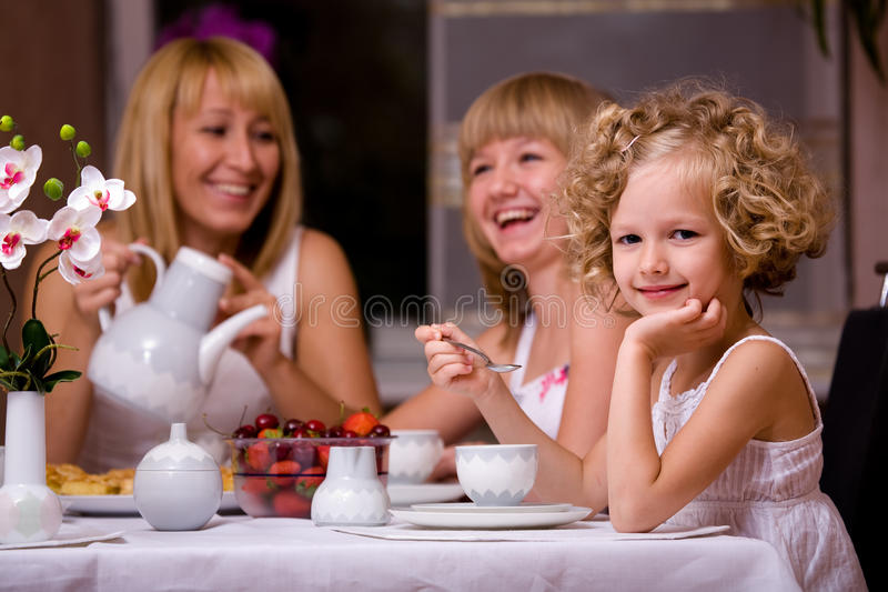 Breakfast at home royalty free stock photos
