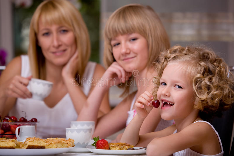 Download Breakfast at home stock image. Image of drink, little - 11634883