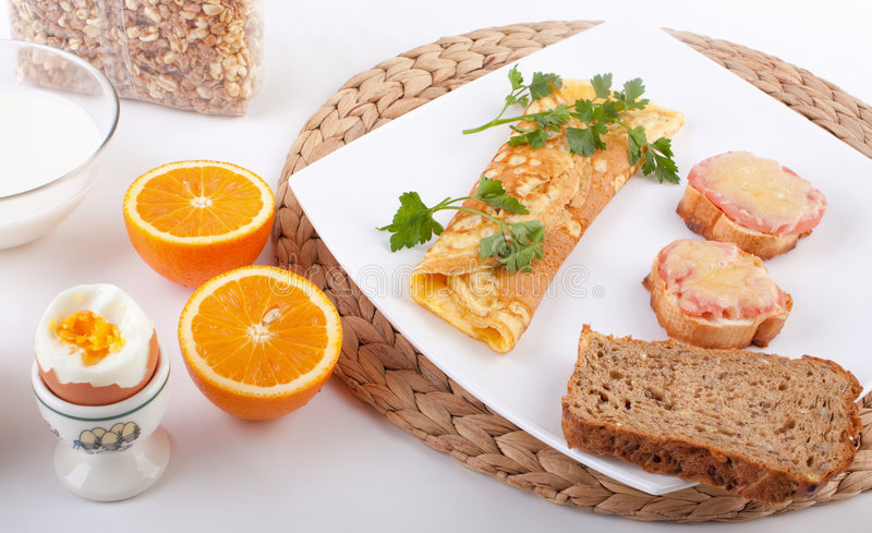 Breakfast meal royalty free stock images